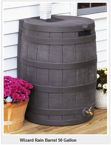 50 gallon rain barrel