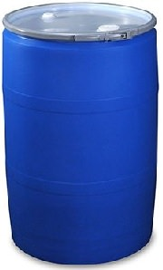 55 gallon plastic drum barrel