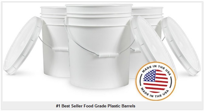 food grade plastic barrels