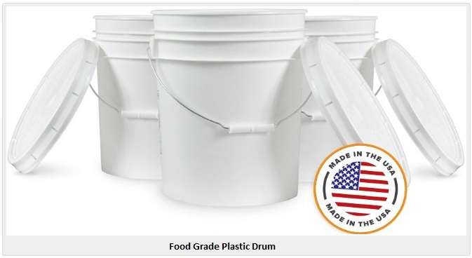 Food Grade Plastic Drum