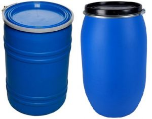 55 gallon plastic drum used