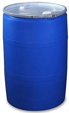 30 gallon plastic drum