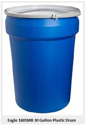 Eagle 1601 30-gallon drum
