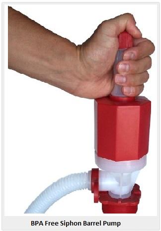 plastic barrel drum pump